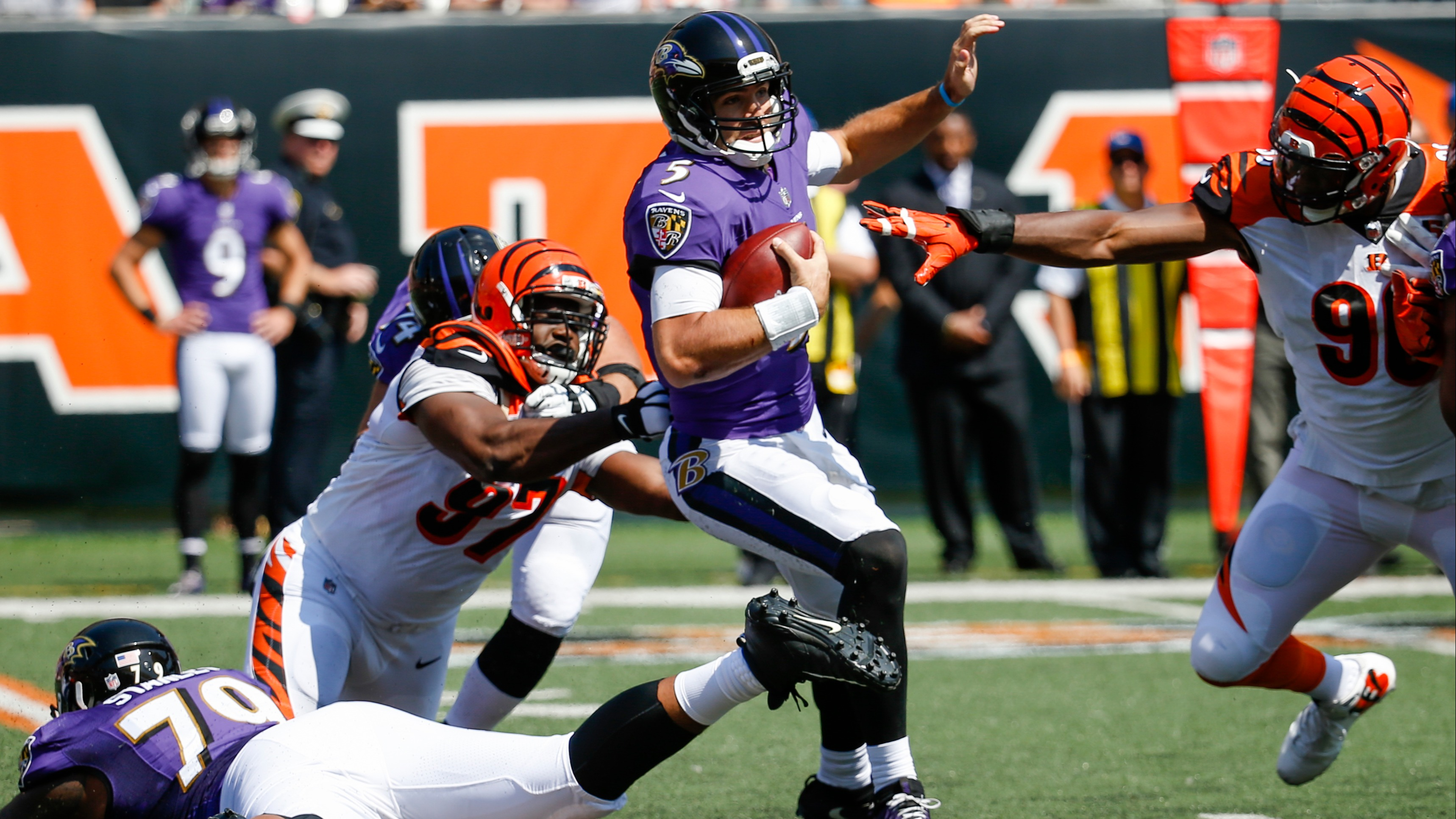 e2606ae1 Ravens at Bengals betting preview: Line hovers around pick 'em