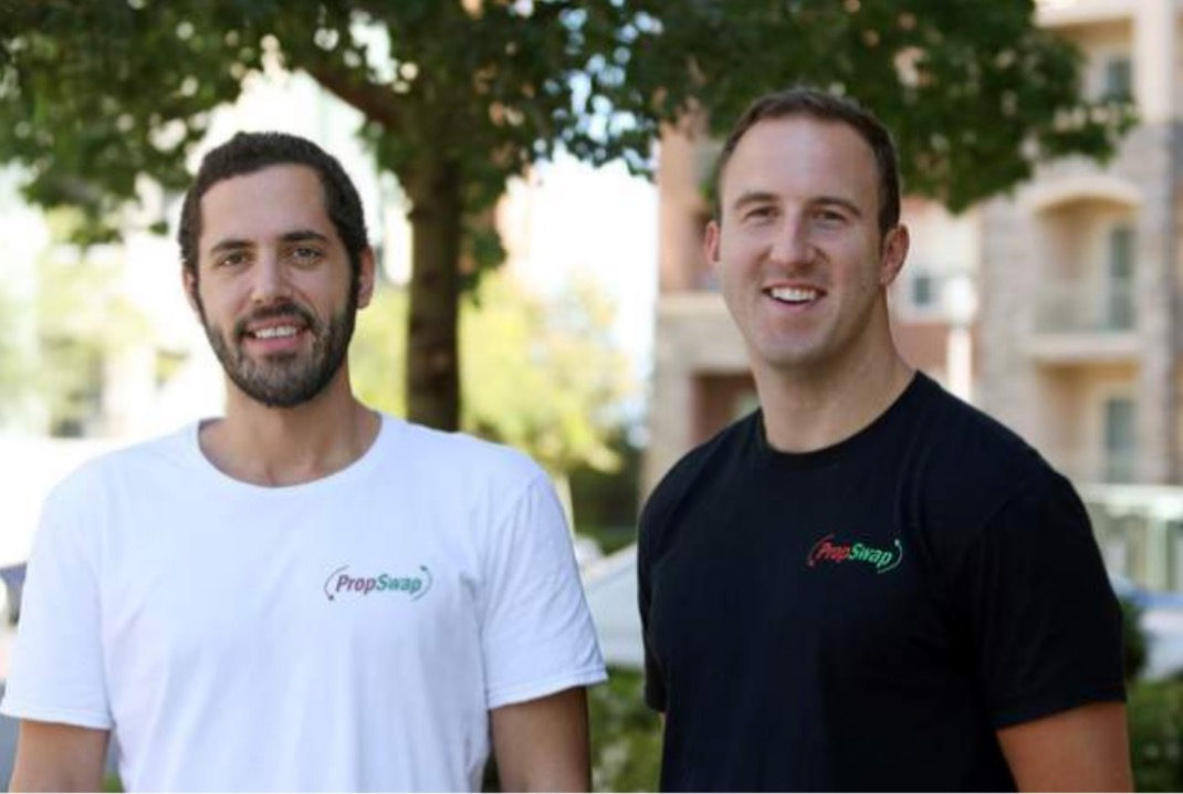 PropSwap's Ian Epstein and Luke Pergande (R) formed the company in 2015.