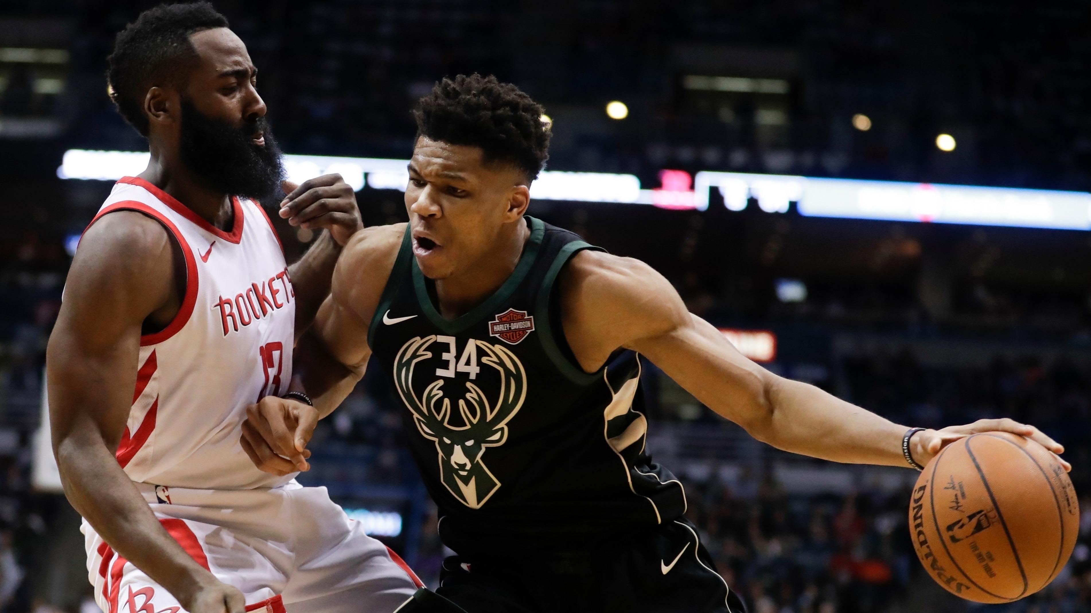 62924d04399 NBA awards  Giannis Antetokounmpo remains MVP favorite as 2018-19 season  winds down