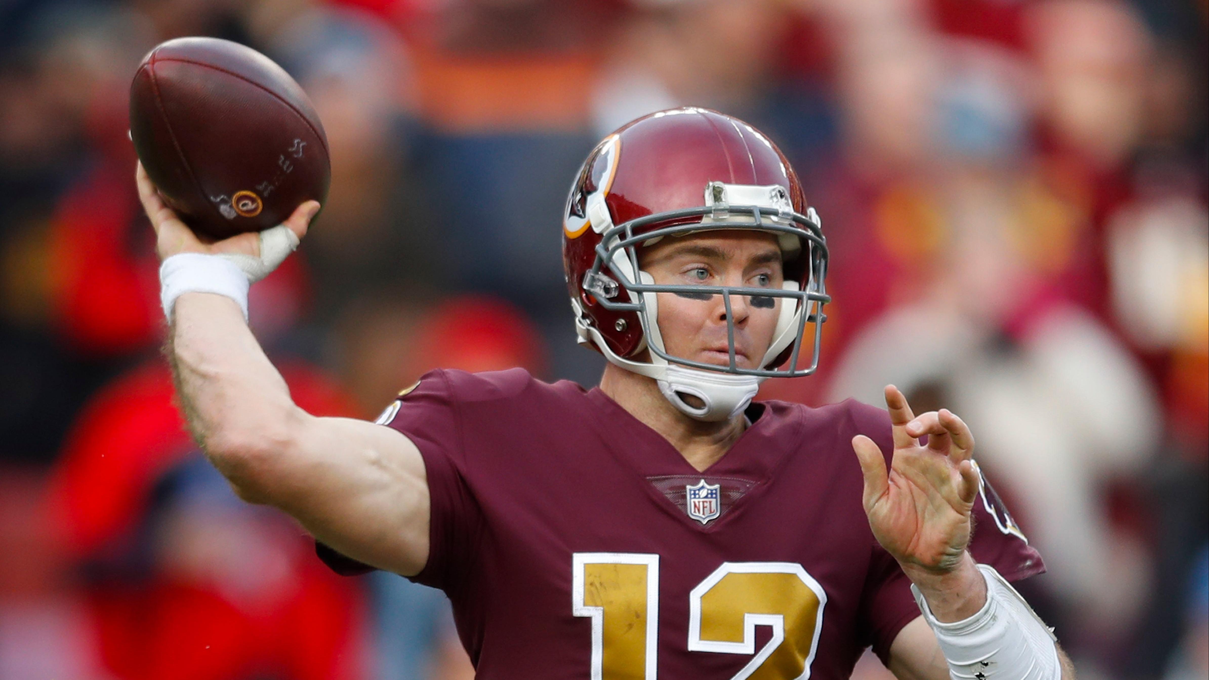 NFL survivor picks Week 12: Redskins' Colt McCoy presents