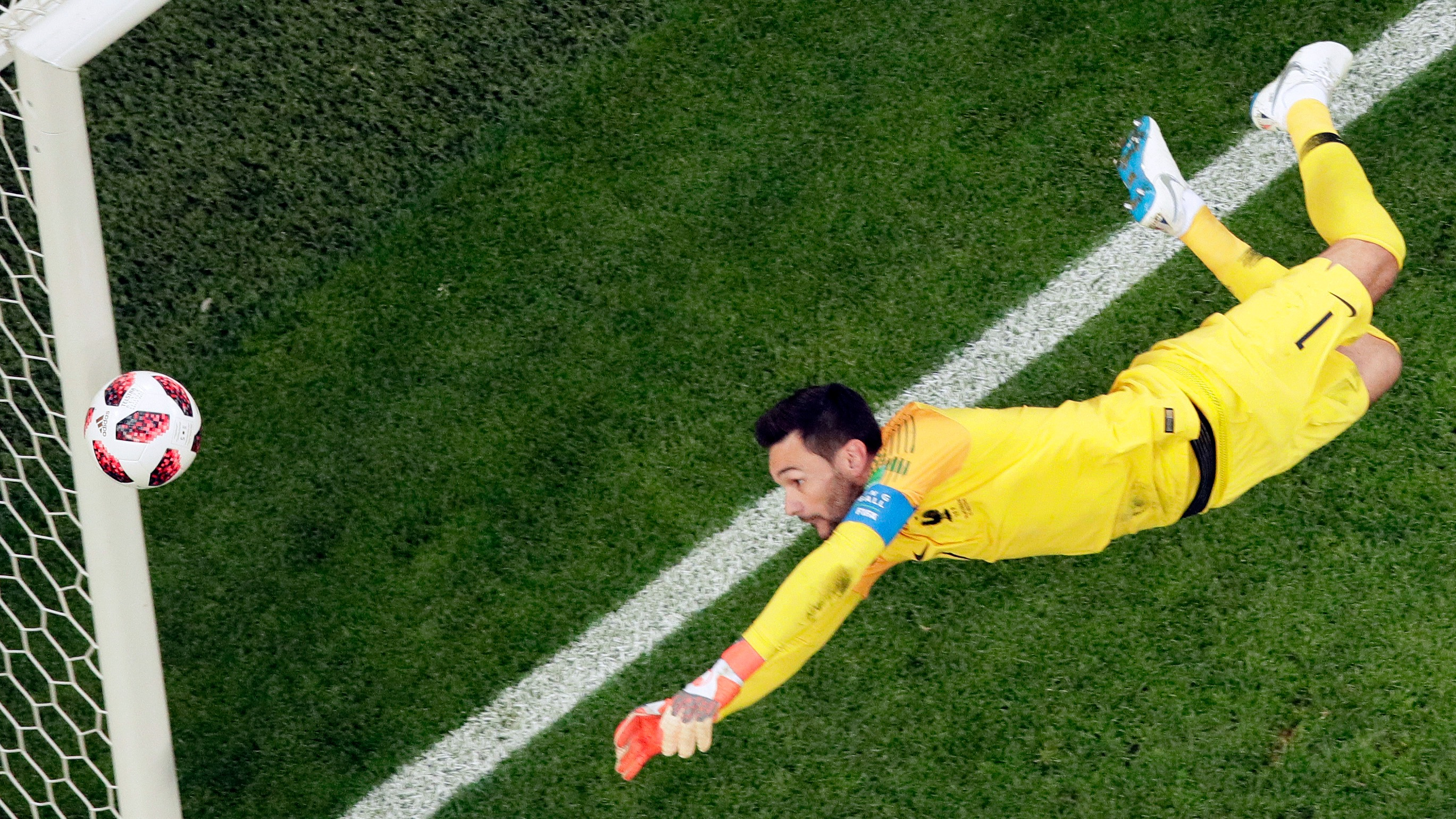 Image result for hugo lloris saves france argentina