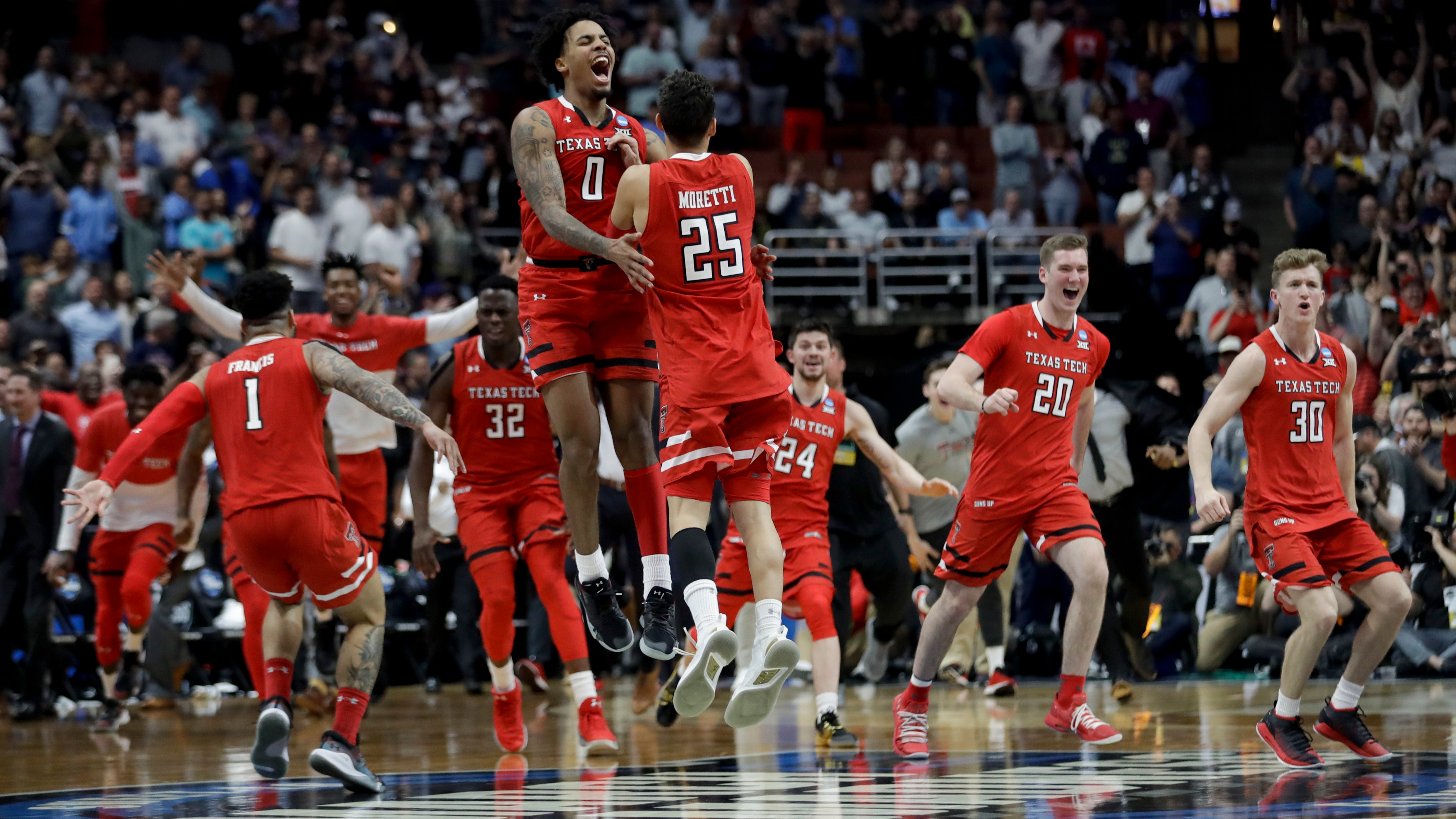 Final Four betting lines, odds, predictions: How Texas Tech can