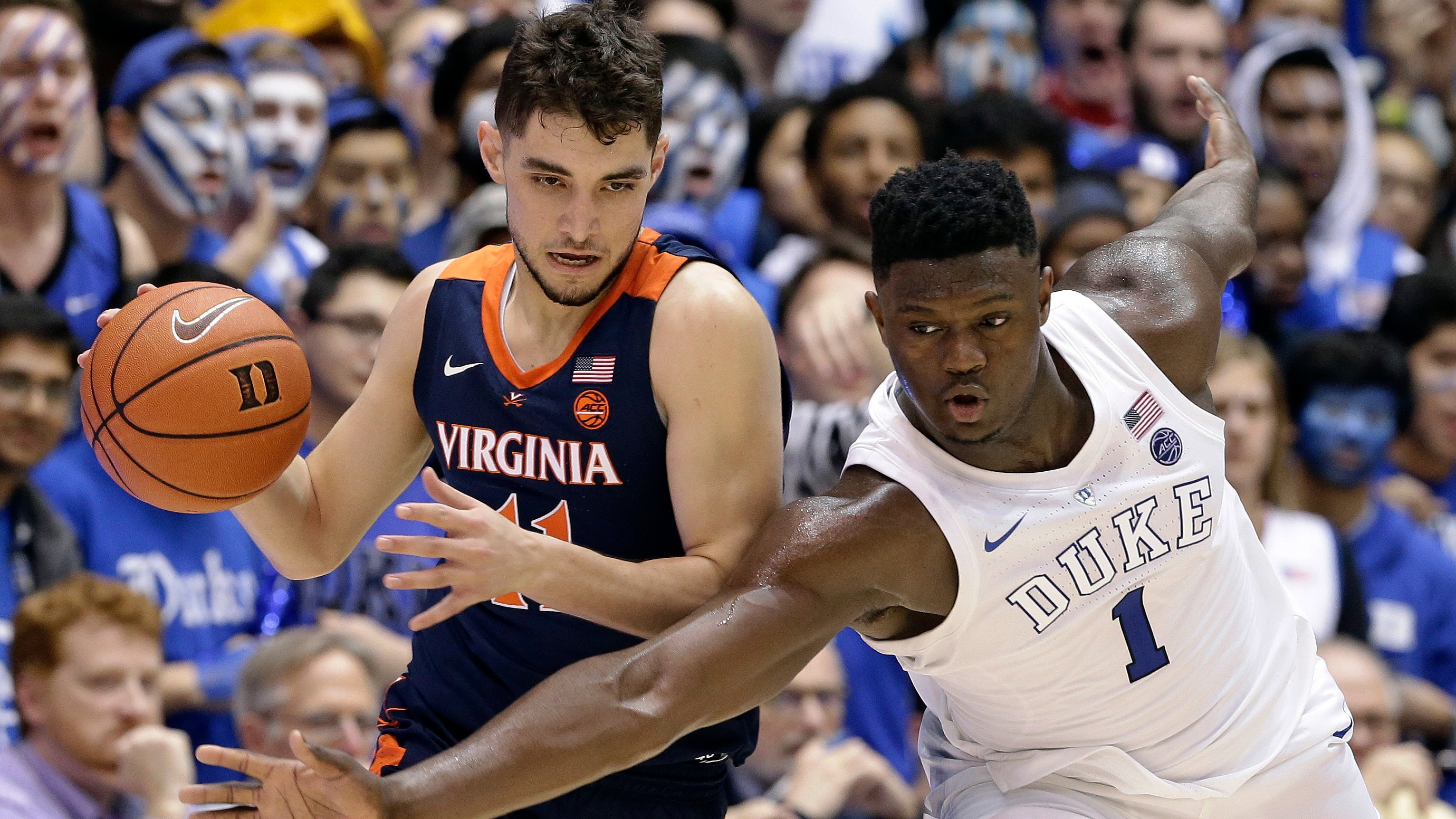 ef9e5b0bb6ae Saturday college basketball betting odds  Duke a rare underdog in rematch vs.  Virginia