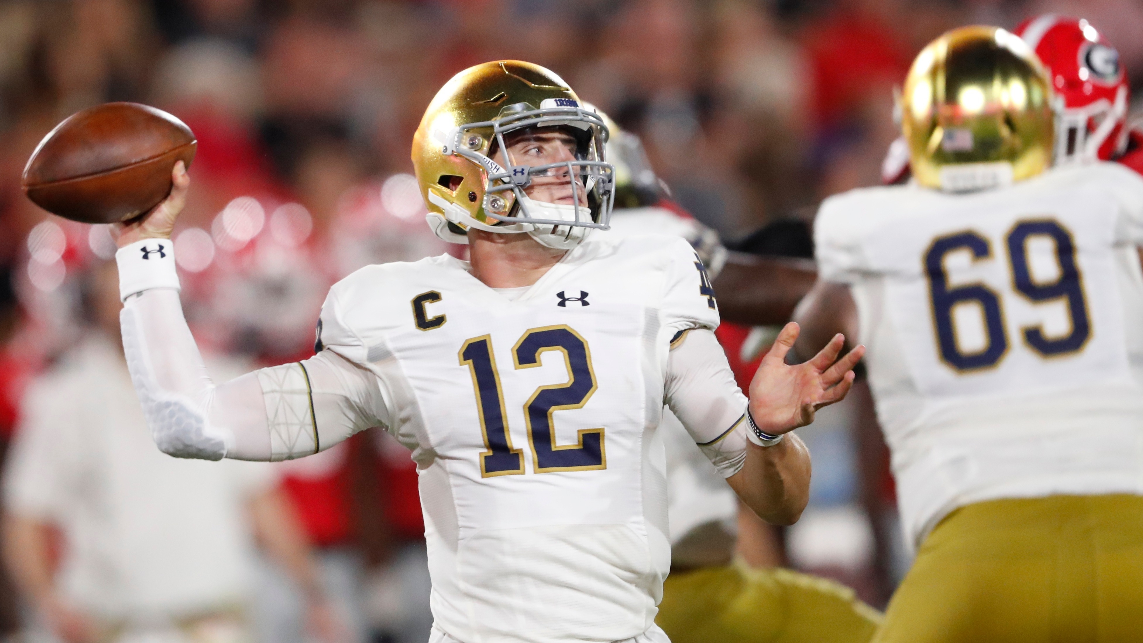 College Football Week 5 Opening Lines Notre Dame Double