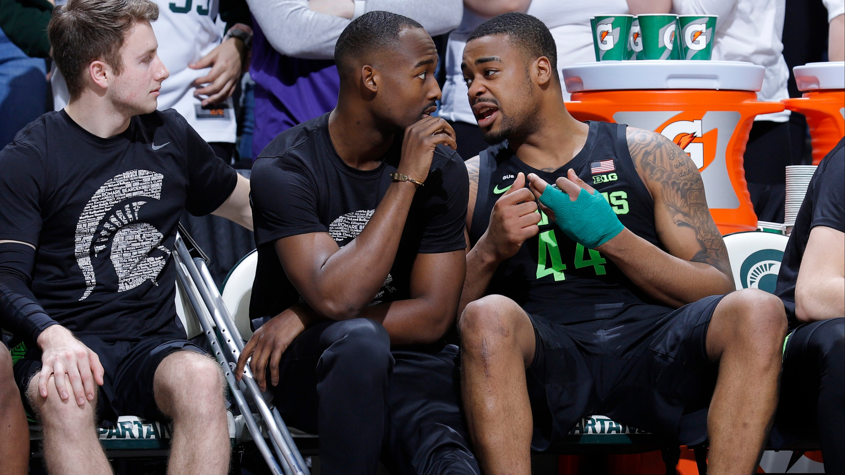 huge selection of c2ed5 17ad3 College basketball betting lines, odds, predictions  Michigan State faces  trap game vs. Rutgers without Nick Ward