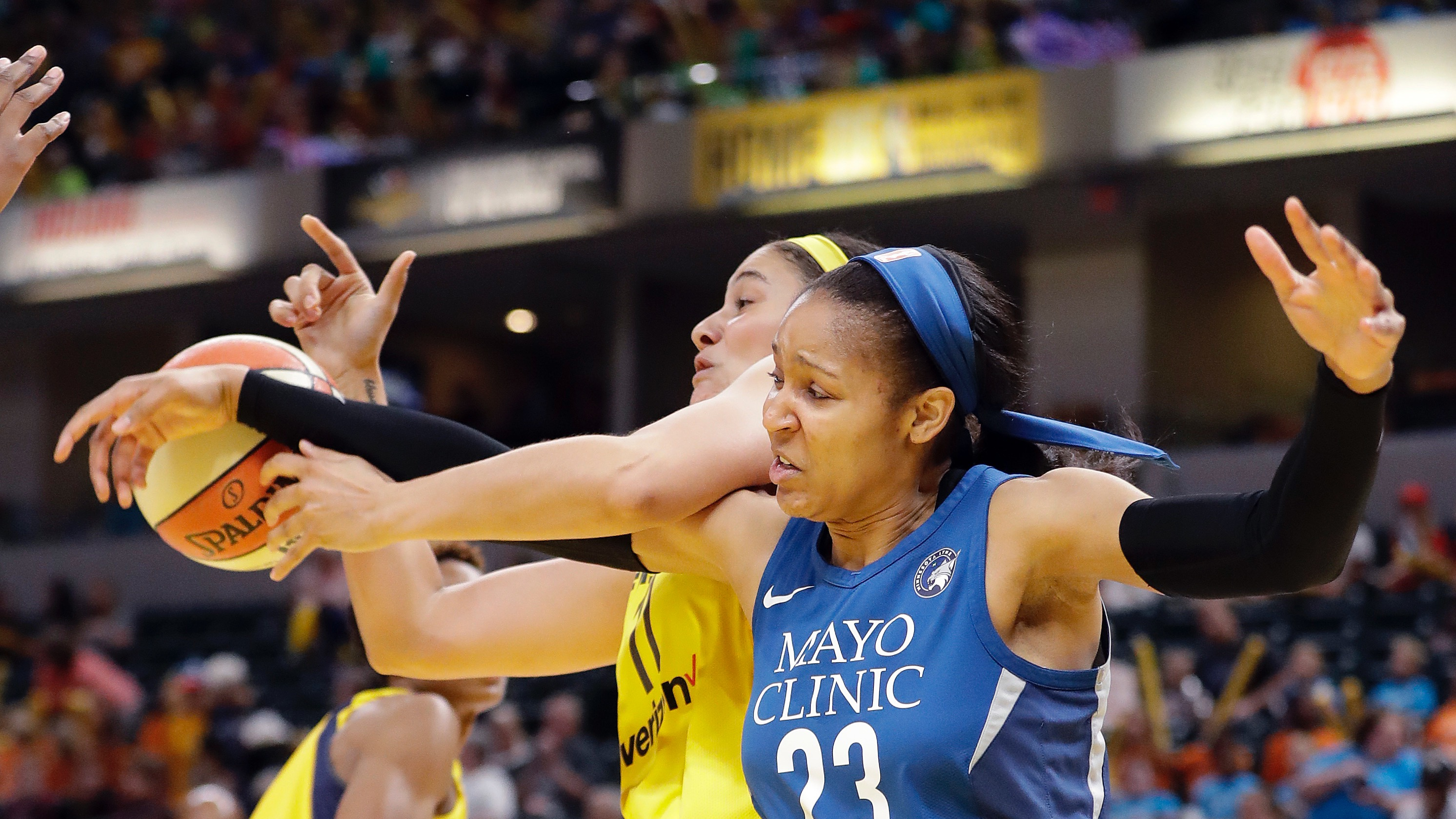 737700818ed9 2019 WNBA title odds  Maya Moore sitting out season moves Lynx championship  line