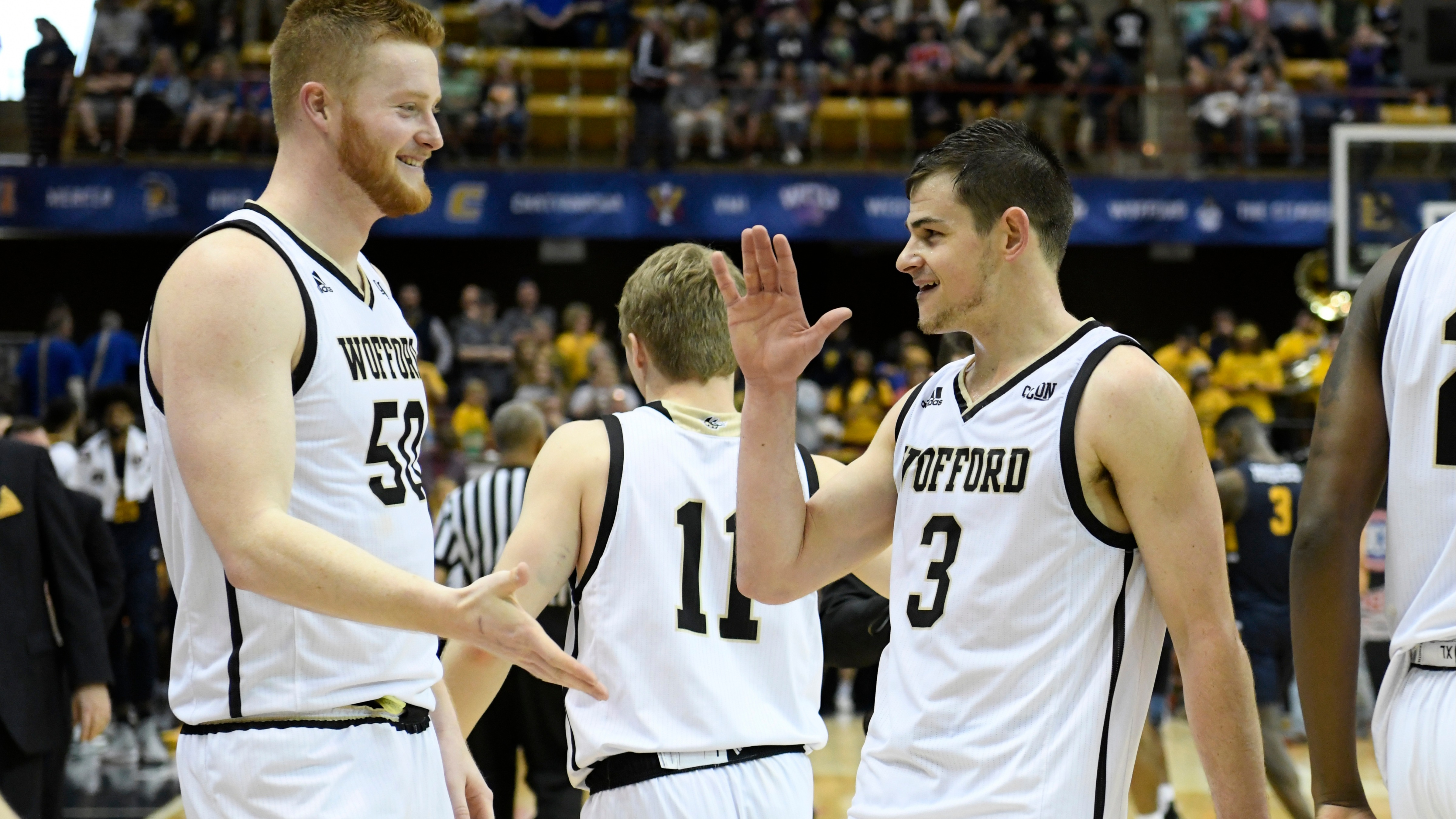 new concept 8880b 6db3e College basketball betting lines, odds, predictions  Tournament sleeper  Wofford faces UNCG in SoCon title tilt