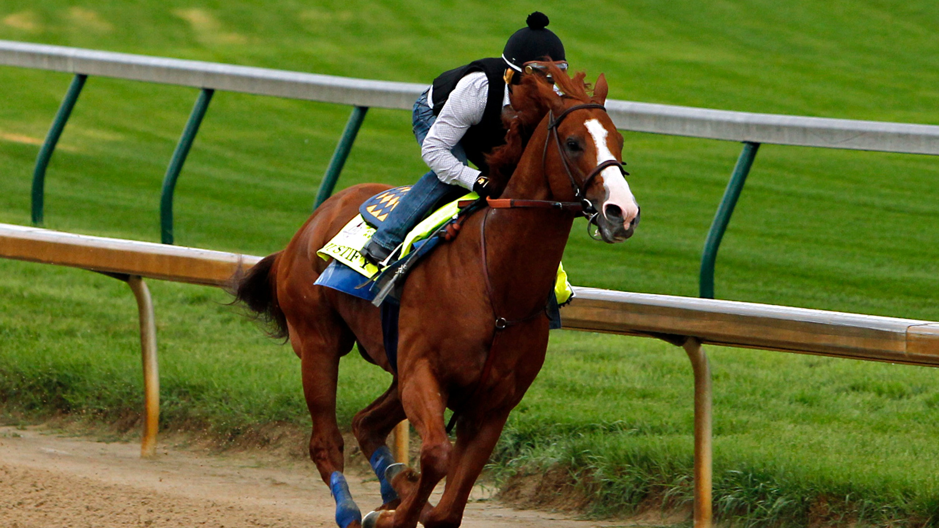 Belmont Stakes post positions: Justify draws the rail in