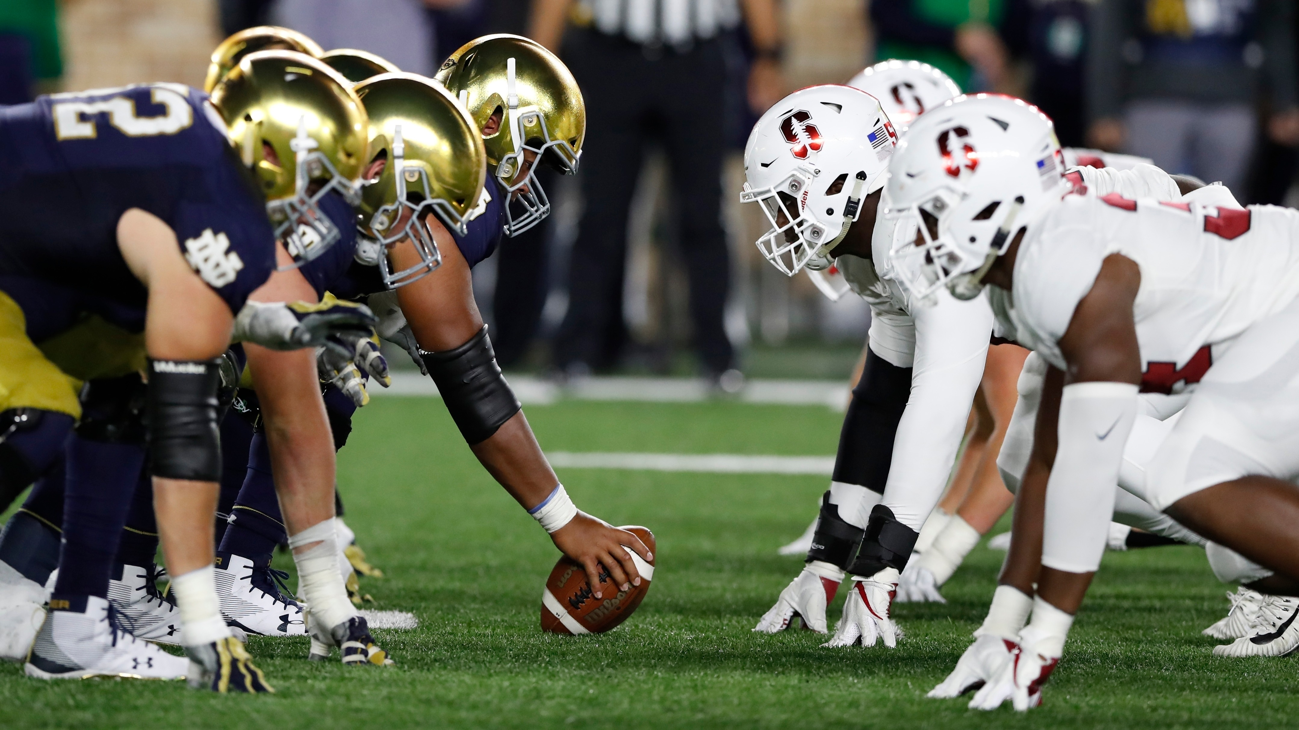 Betting line stanford notre dame binary options xls