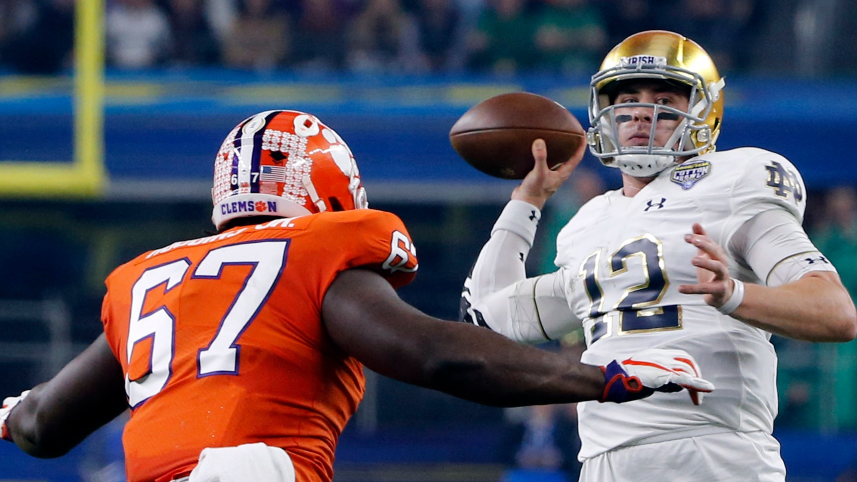 bf348e7b Odds to make 2019 College Football Playoff: Bookmakers differ on Notre Dame
