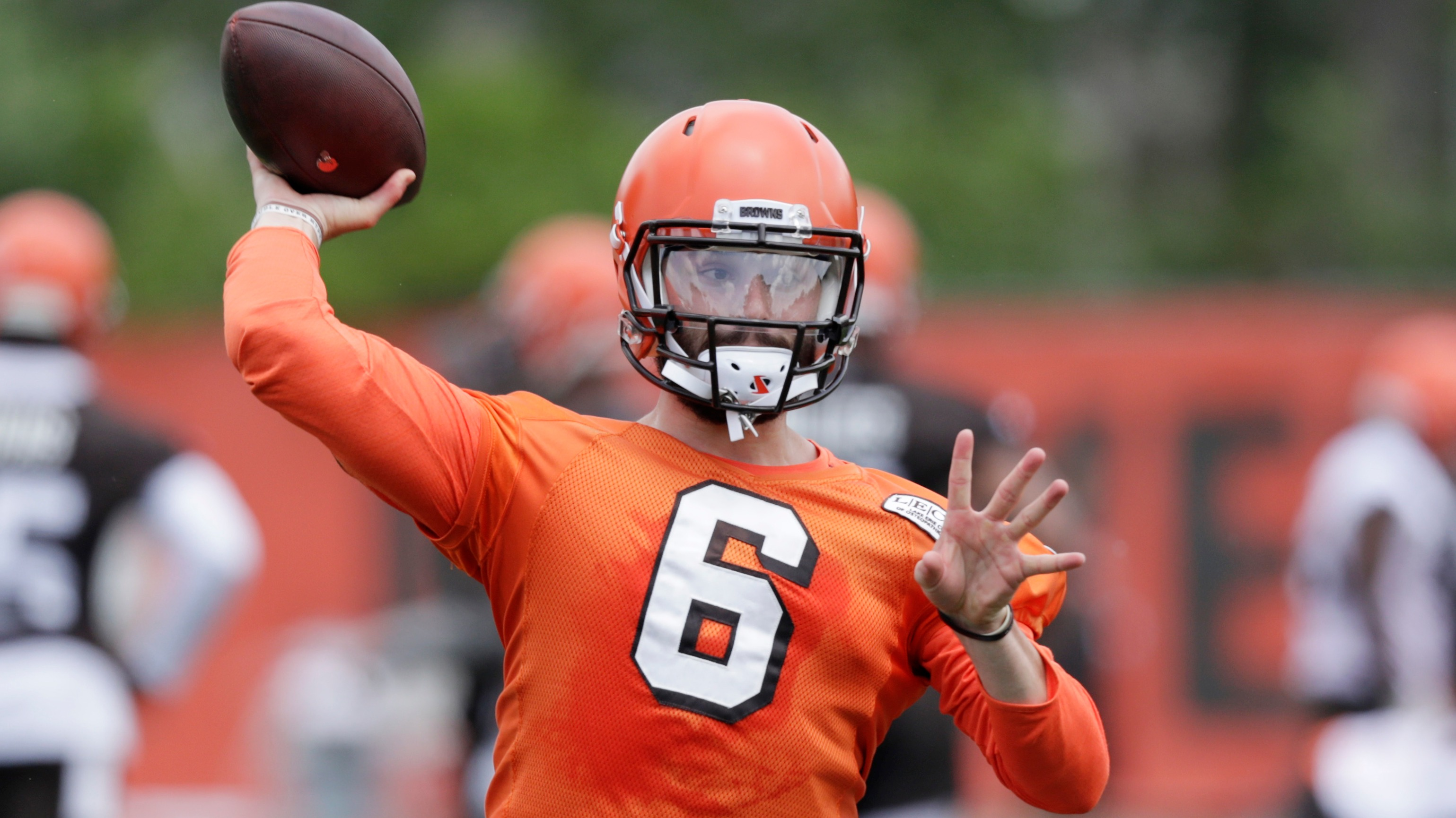 078c91b47 The top two picks in the NFL Draft will face off Thursday in the preseason  when Baker Mayfield and the Browns battle Saquon Barkley and the Giants.