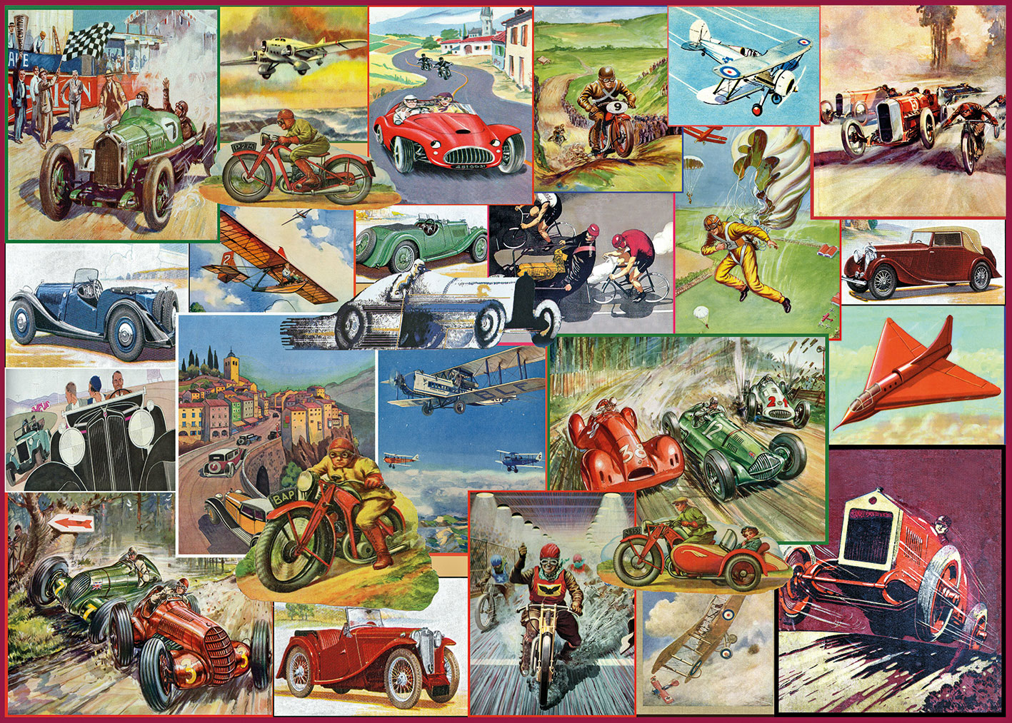 The Racing Game 1000 piece jigsaw puzzle