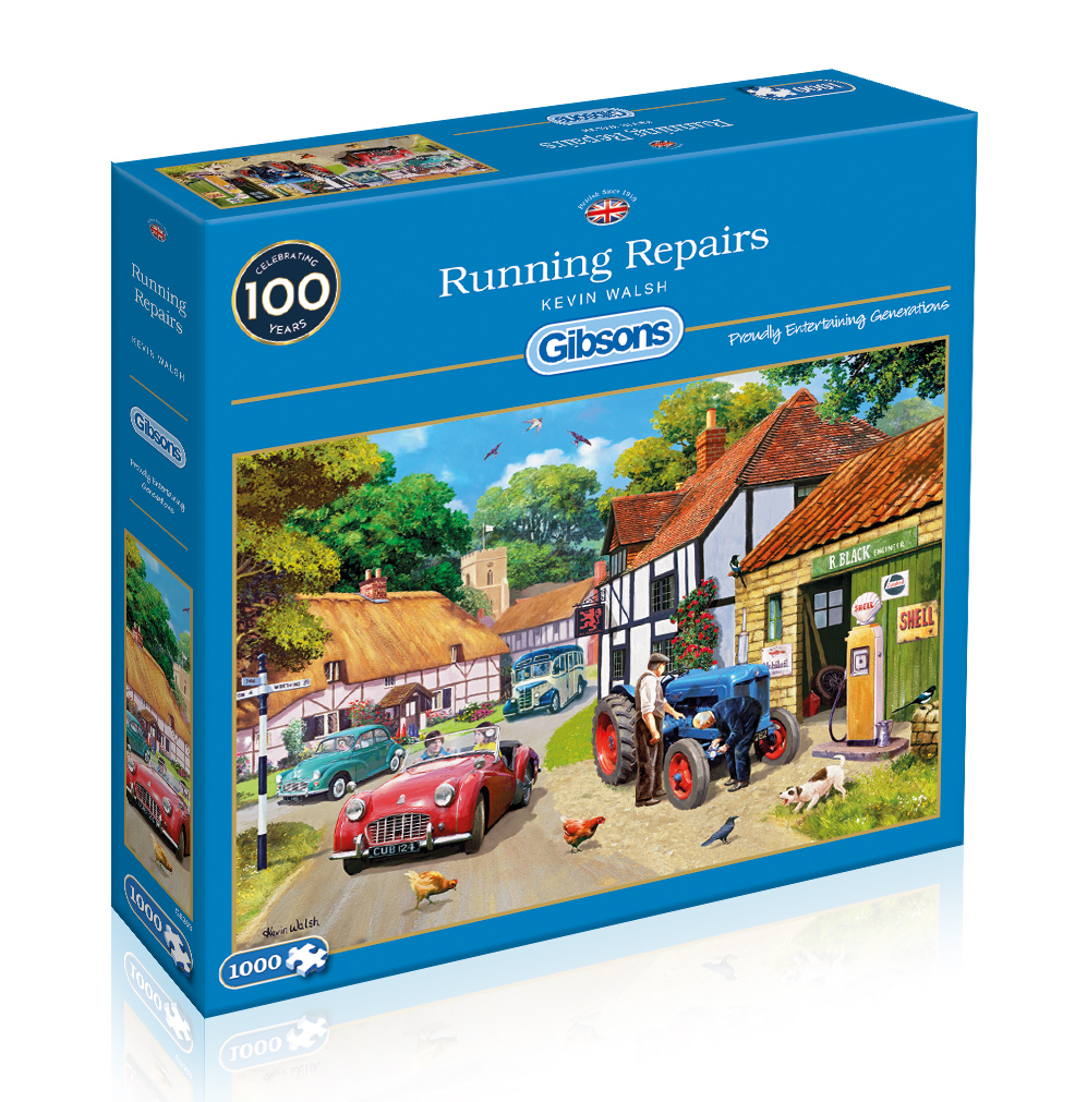 Running Repairs 1000pc Jigsaw Puzzle