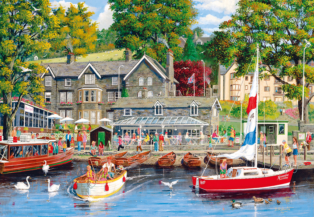 Summer in Ambleside Jigsaw Puzzle