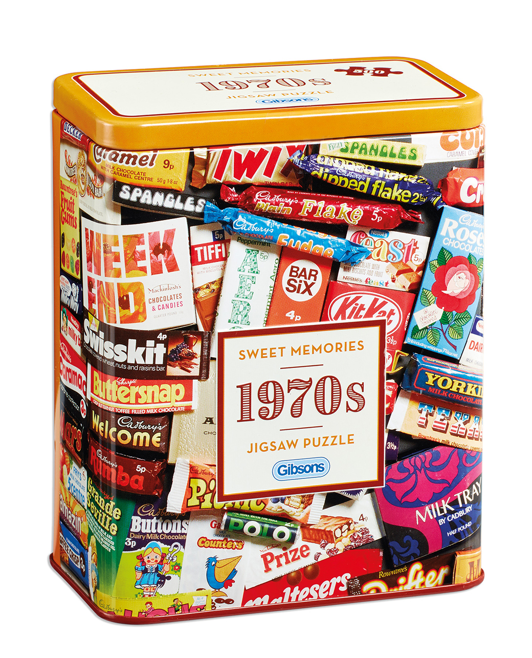 1970s Sweet Memories Tin