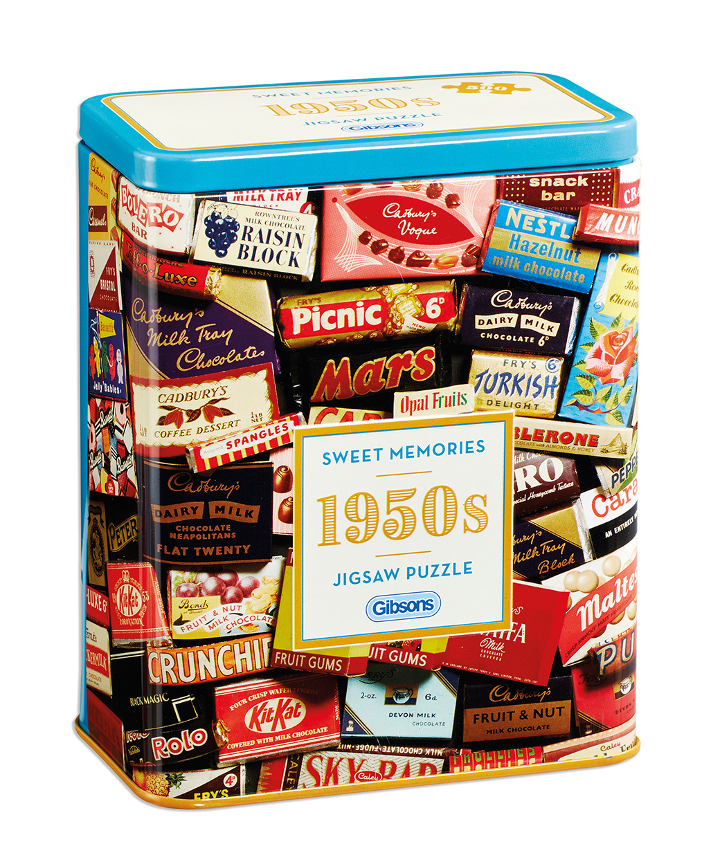1950s Sweet Memories Gift Tin