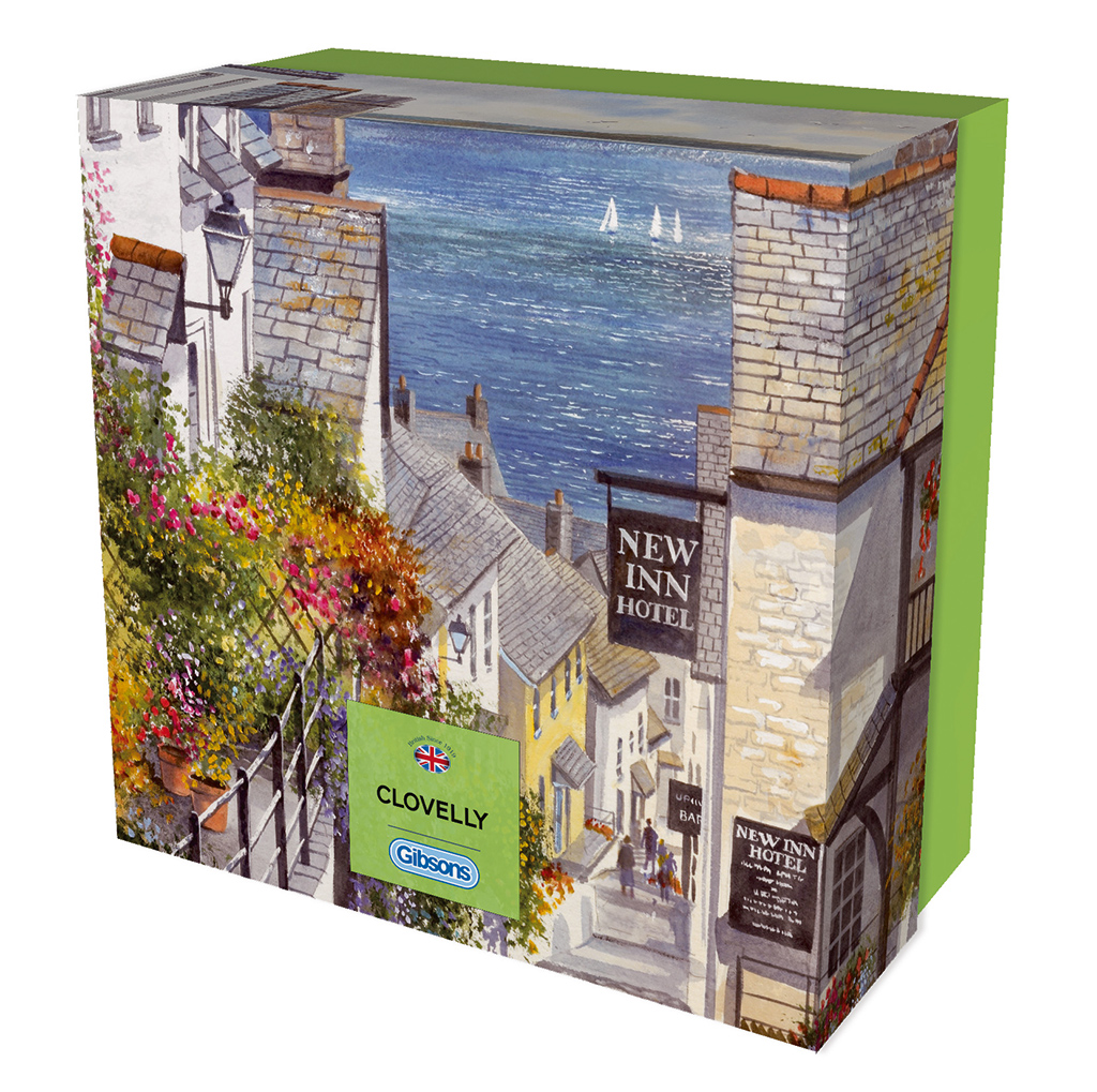 Clovelly Gift Puzzle