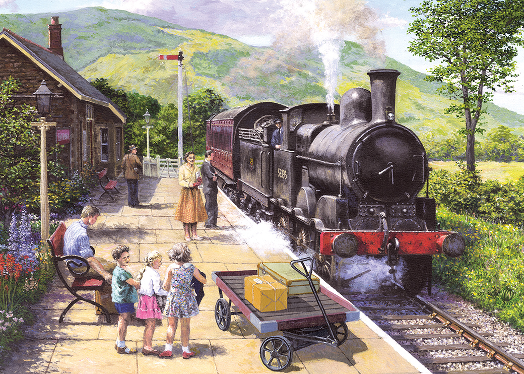 All Aboard to Keswick 1000pc Puzzle