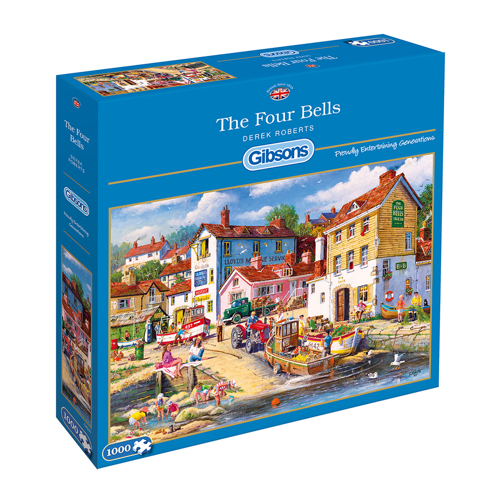 The Four Bells 1000pc Jigsaw Puzzle