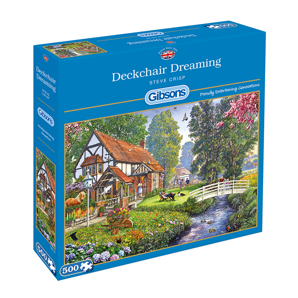 Deckchair Dreaming 500pc Jigsaw Puzzle