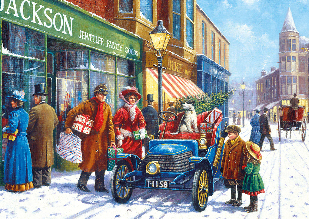 Family Christmas Shop 100XXL puzzle