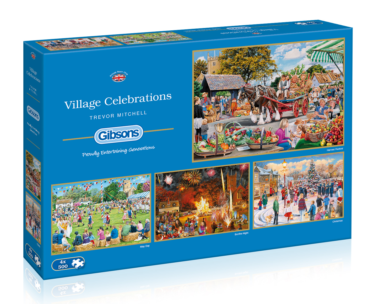 G5051 Village Celebrations box