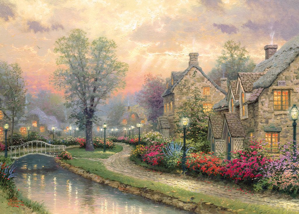 Lamplight Lane 1000 Jigsaw Puzzle