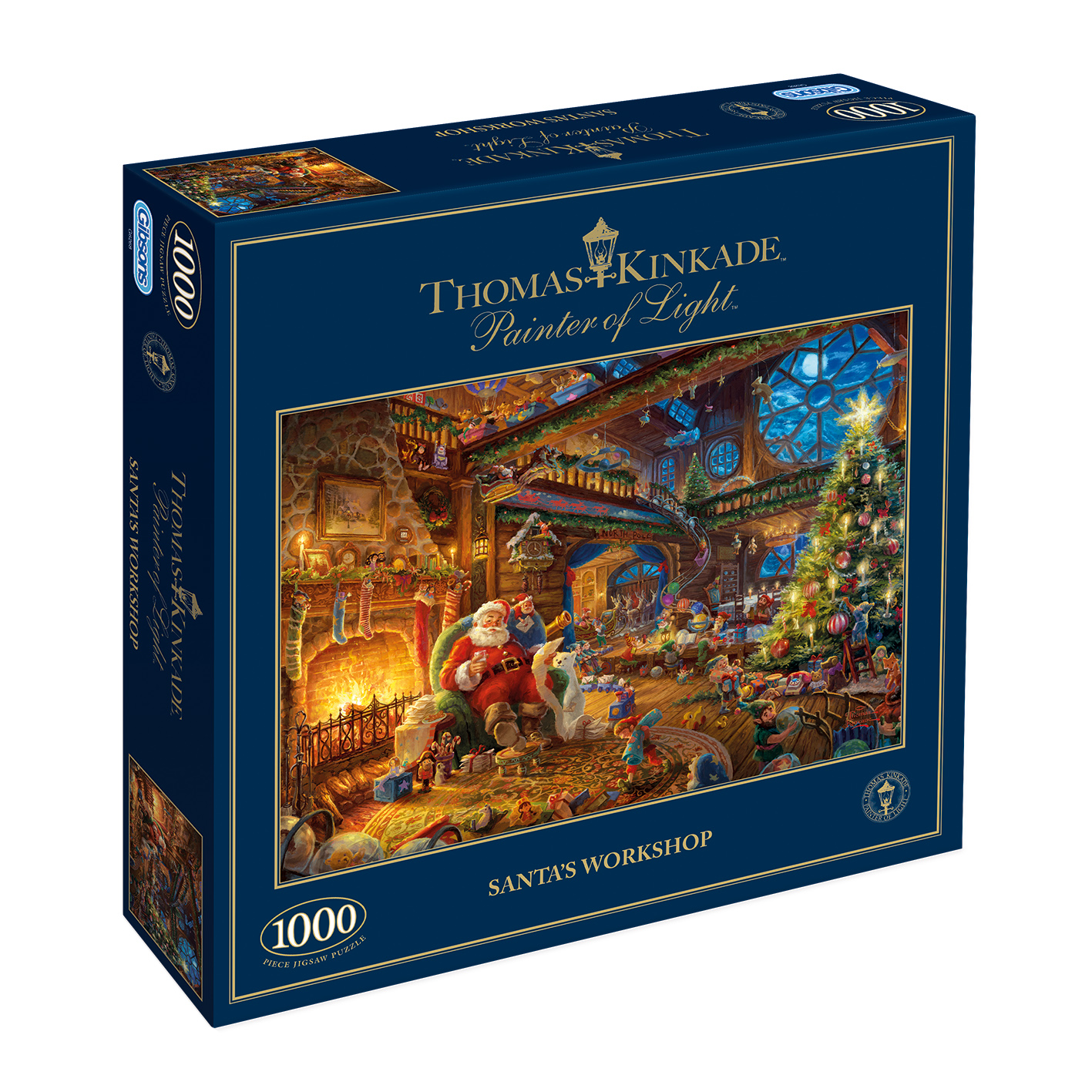 Santa's Workshop 1000pc Jigsaw Puzzle