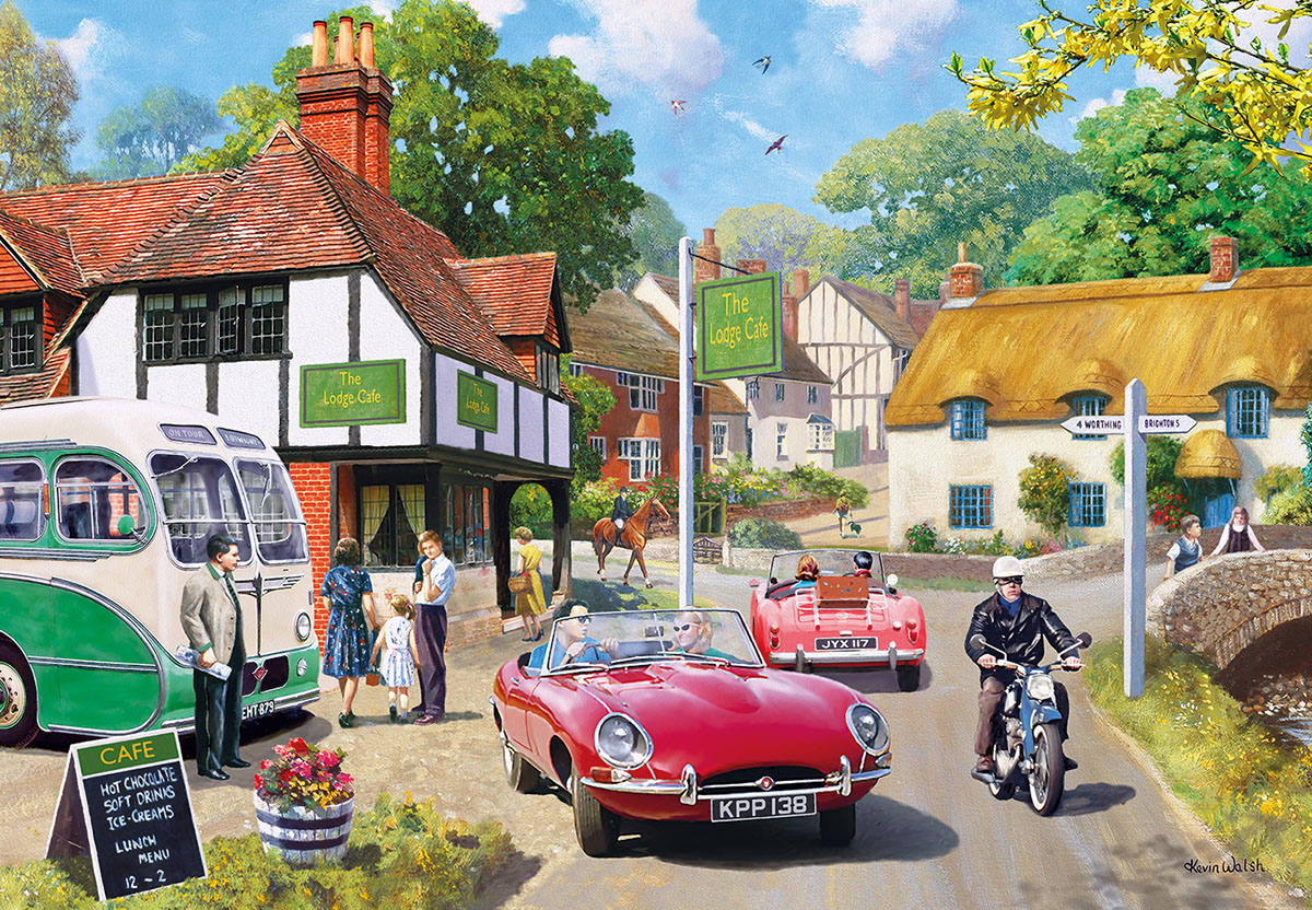 Roadside Refreshment Jigsaw Puzzle
