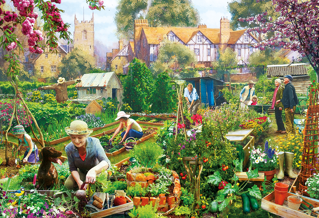 Green Fingers 500pc Jigsaw Puzzle