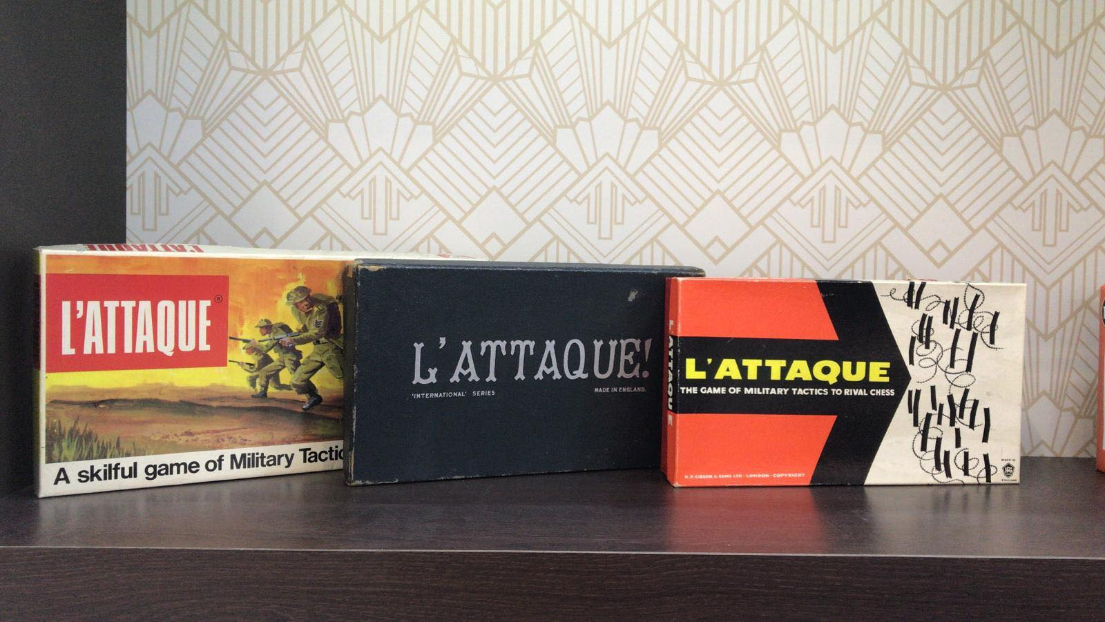L'Attaque - Previous Versions