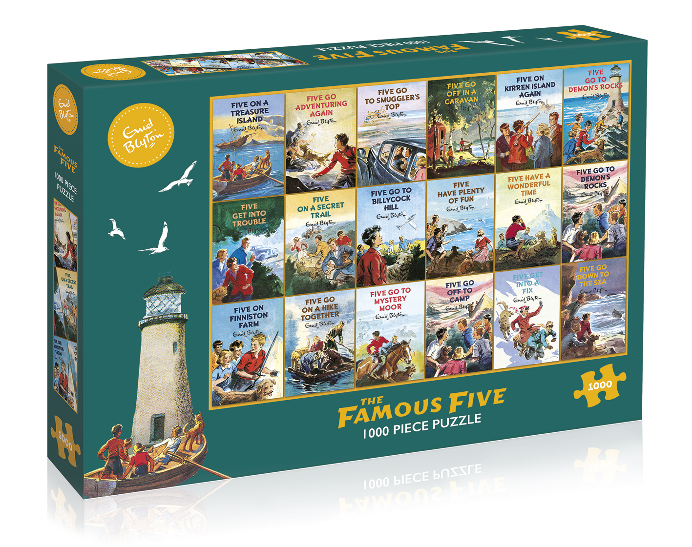 G7090 The Famous Five 1000 box