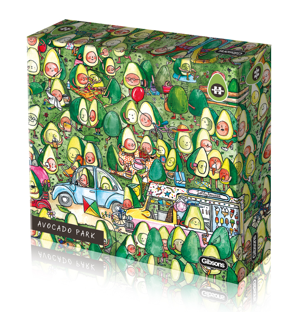 Avocado Park 1000pc Puzzle