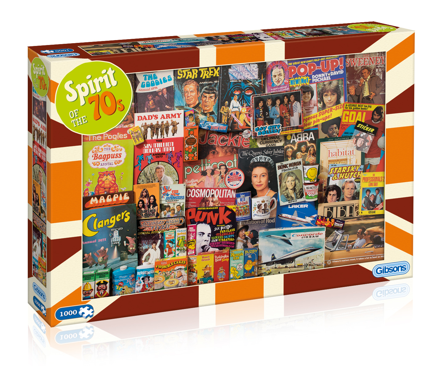 Spirit of the 70s Jigsaw Puzzle