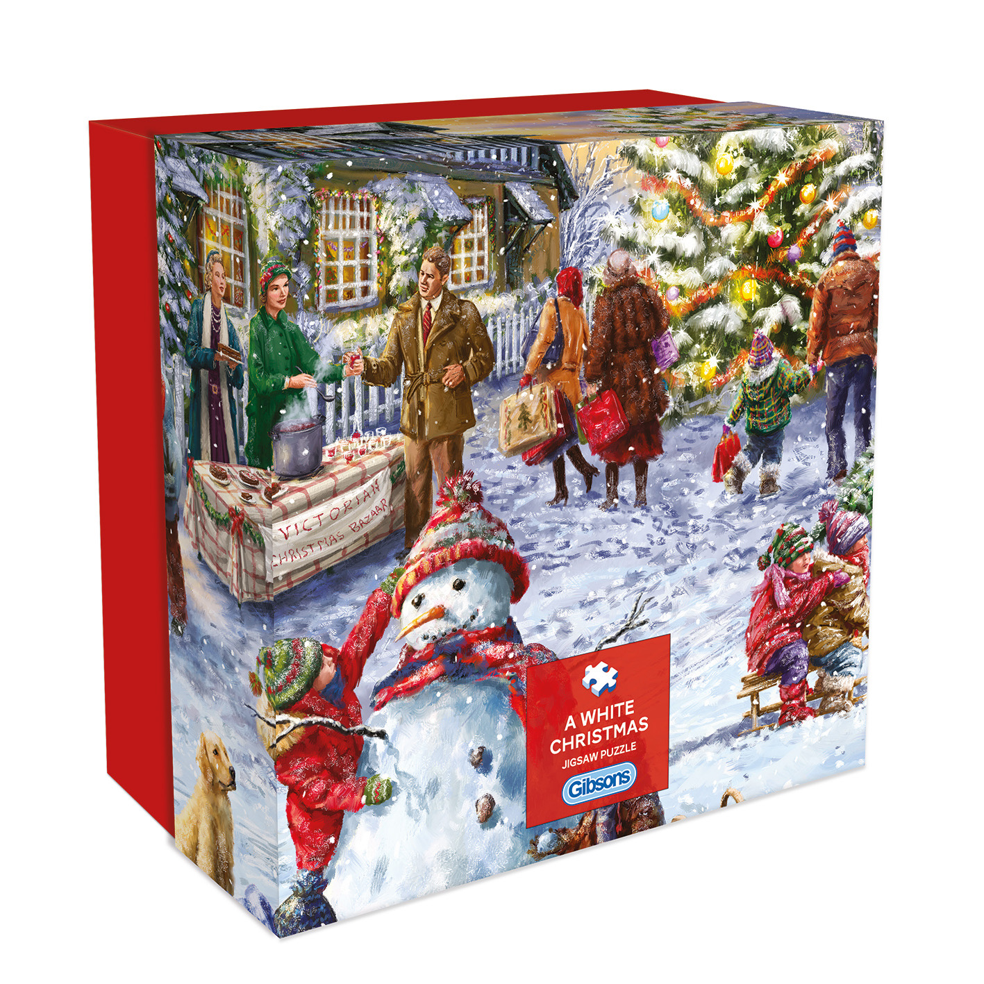 A White Christmas Gift Puzzle