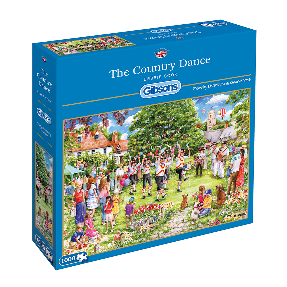 The Country Dance 1000pc Jigsaw Puzzle
