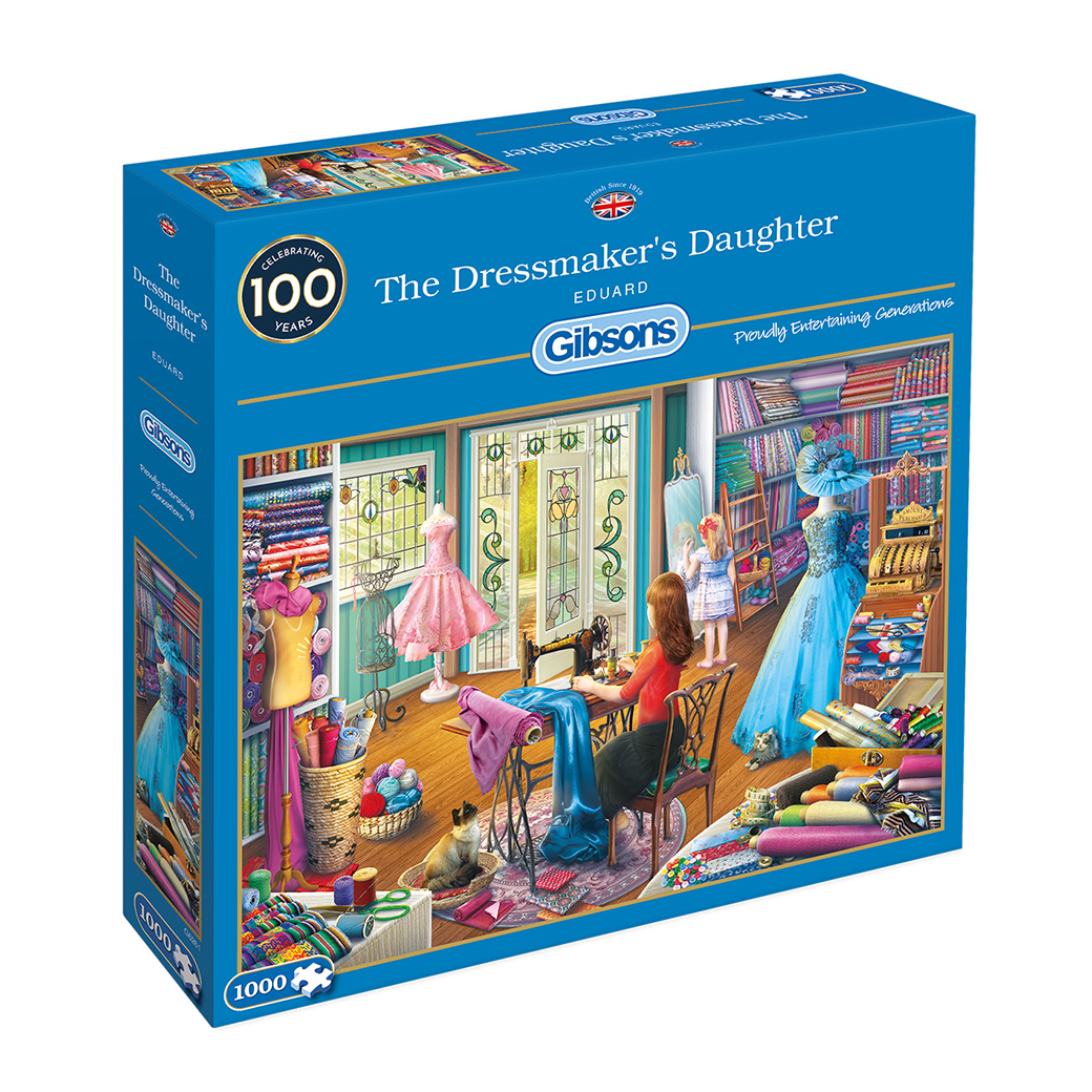 The Dressmaker's Daughter 1000pc Jigsaw