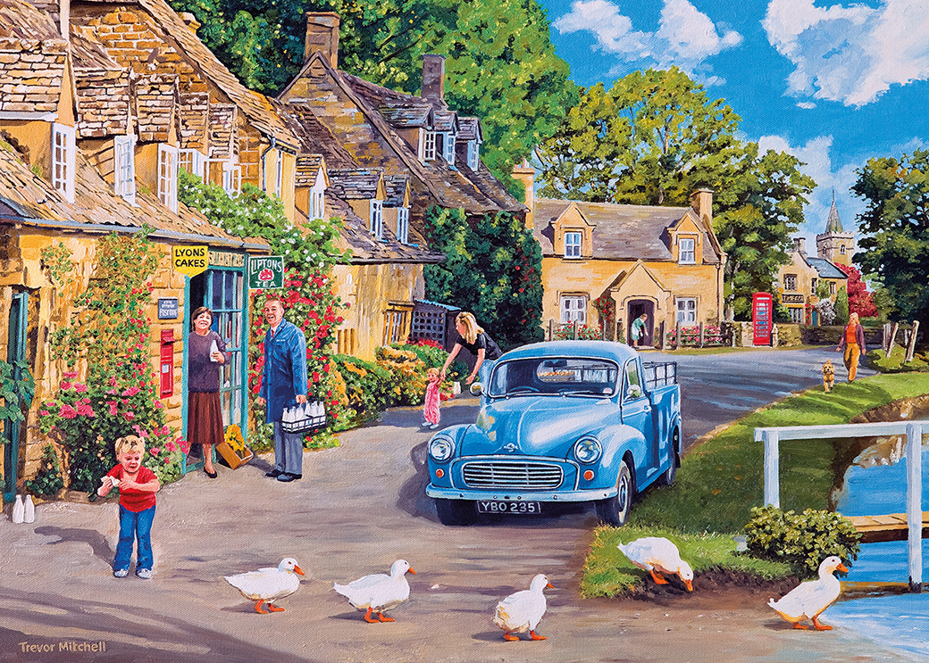 Morning Delivery 500XLpc Jigsaw Puzzle