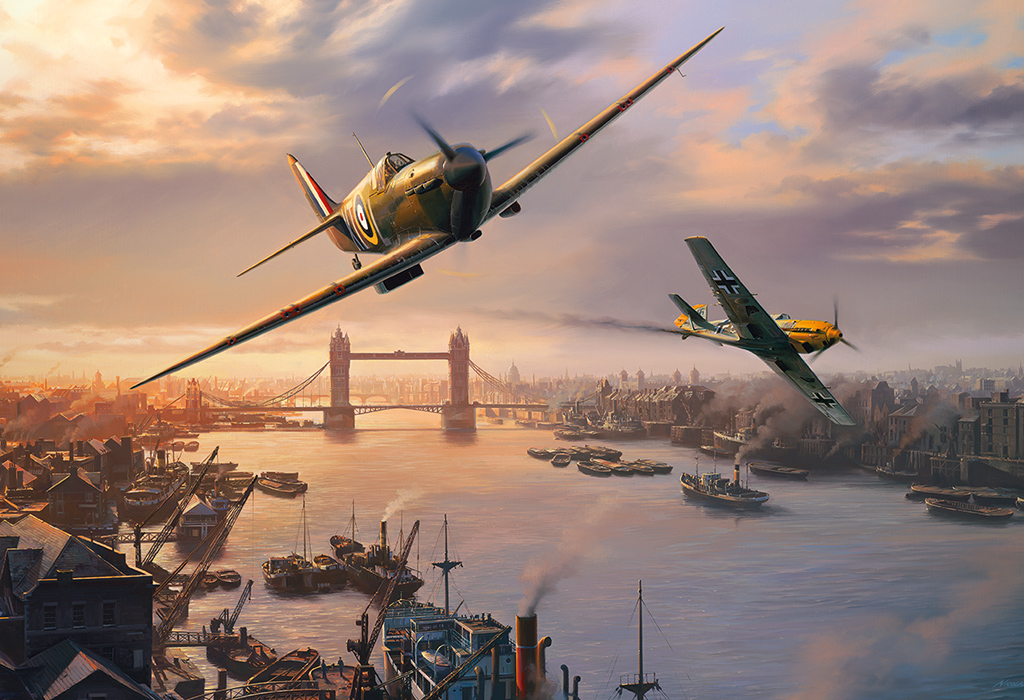 Spitfire Skirmish 500pc Jigsaw Puzzle