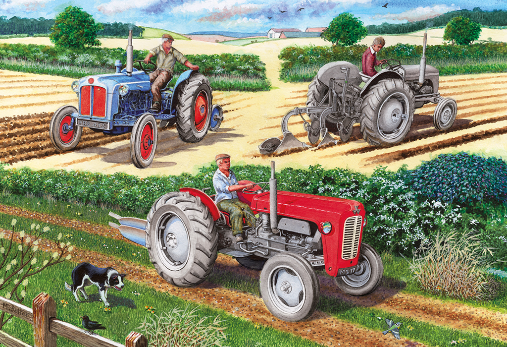The Ploughing Match 500pc Jigsaw Puzzle