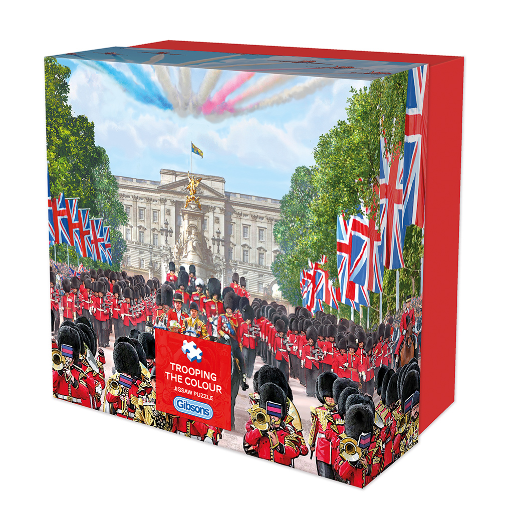 Trooping the Colour Gift Jigsaw Puzzle