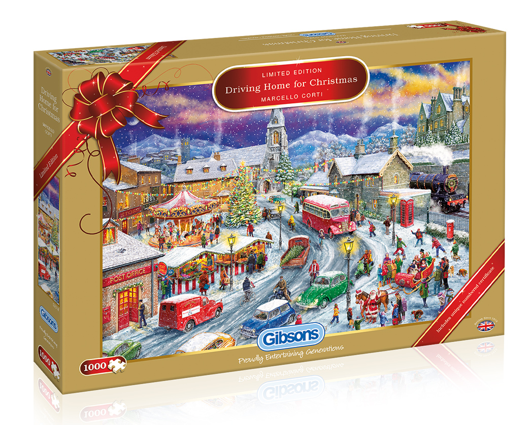 Driving Home for Christmas Puzzle (1000)