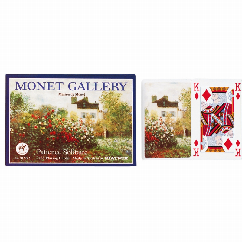 Monet Patience Double Deck