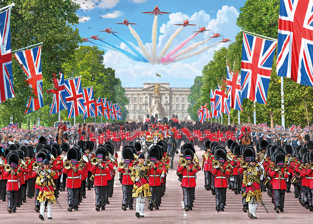 Trooping the Colour 1000 Jigsaw Puzzle
