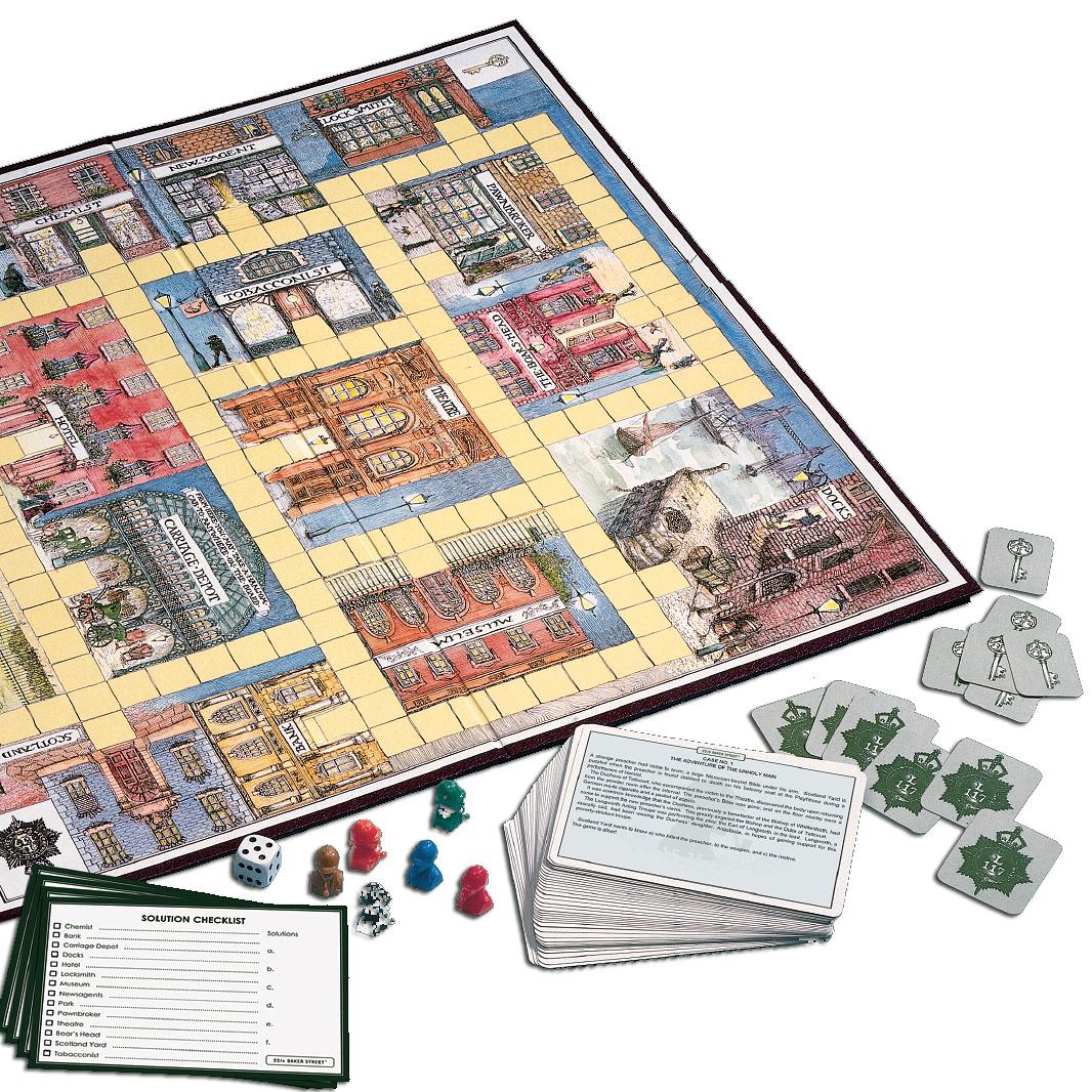 221b baker street game answers