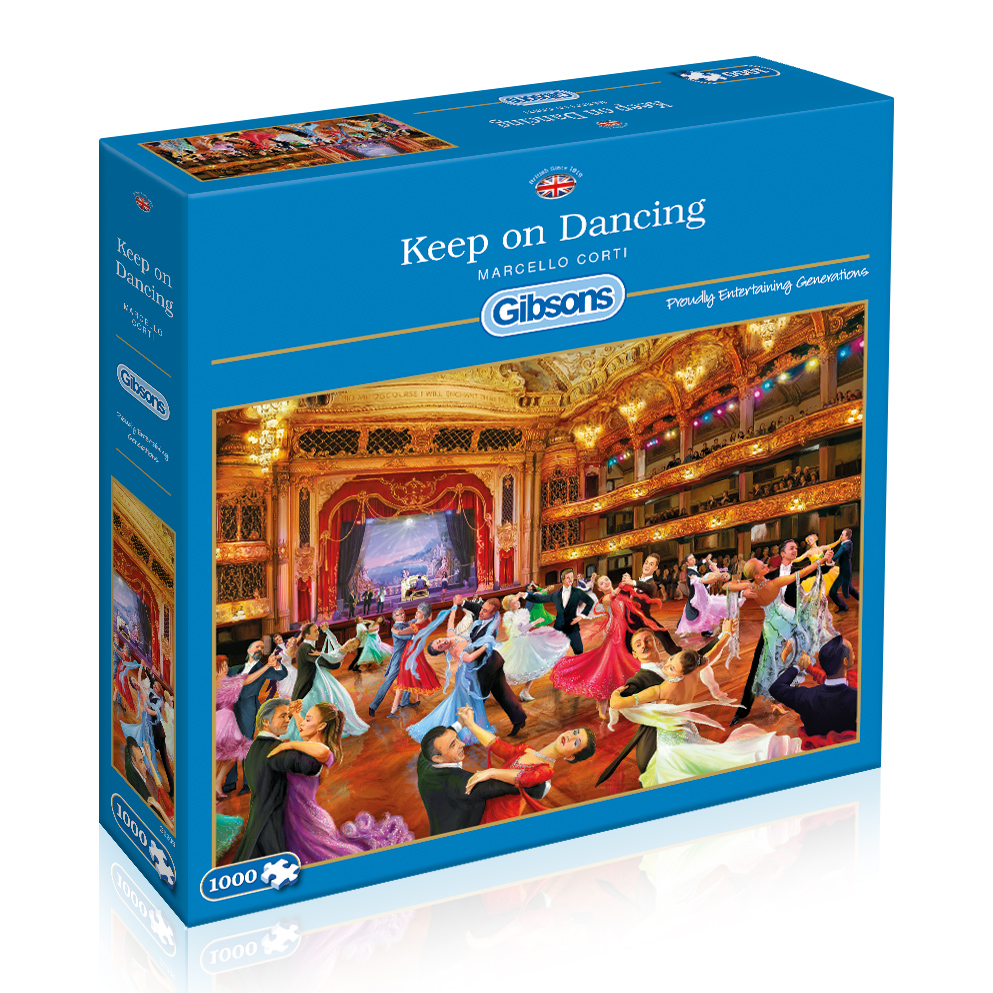 Keep on Dancing Jigsaw Puzzle