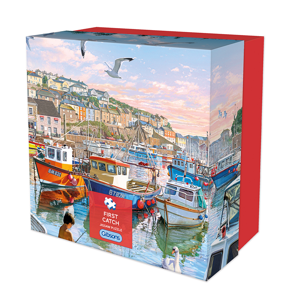 First Catch Gift Jigsaw Puzzle