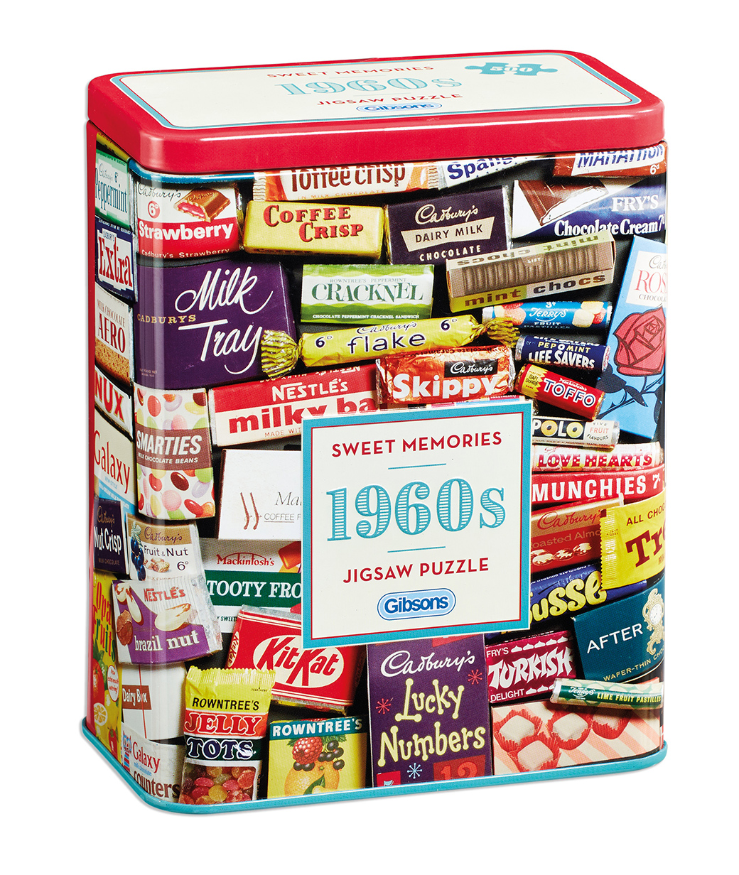 1960s Sweet Memories Gift Tin