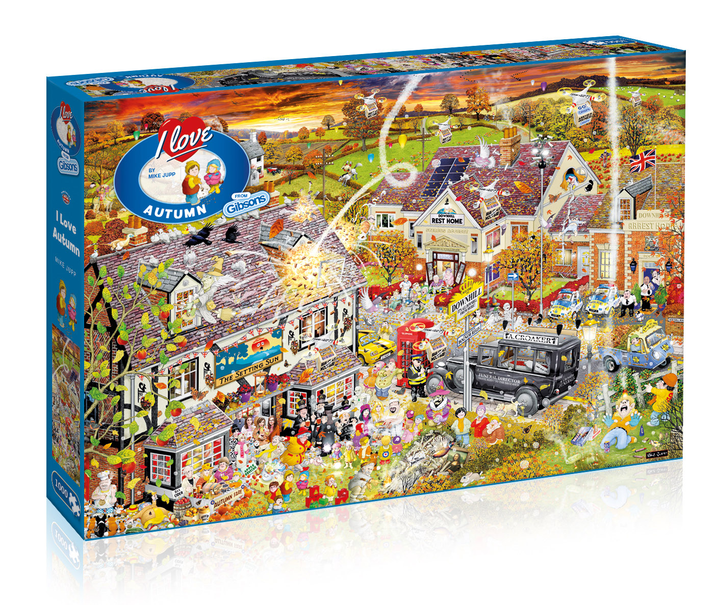 I Love Autumn Jigsaw Puzzle