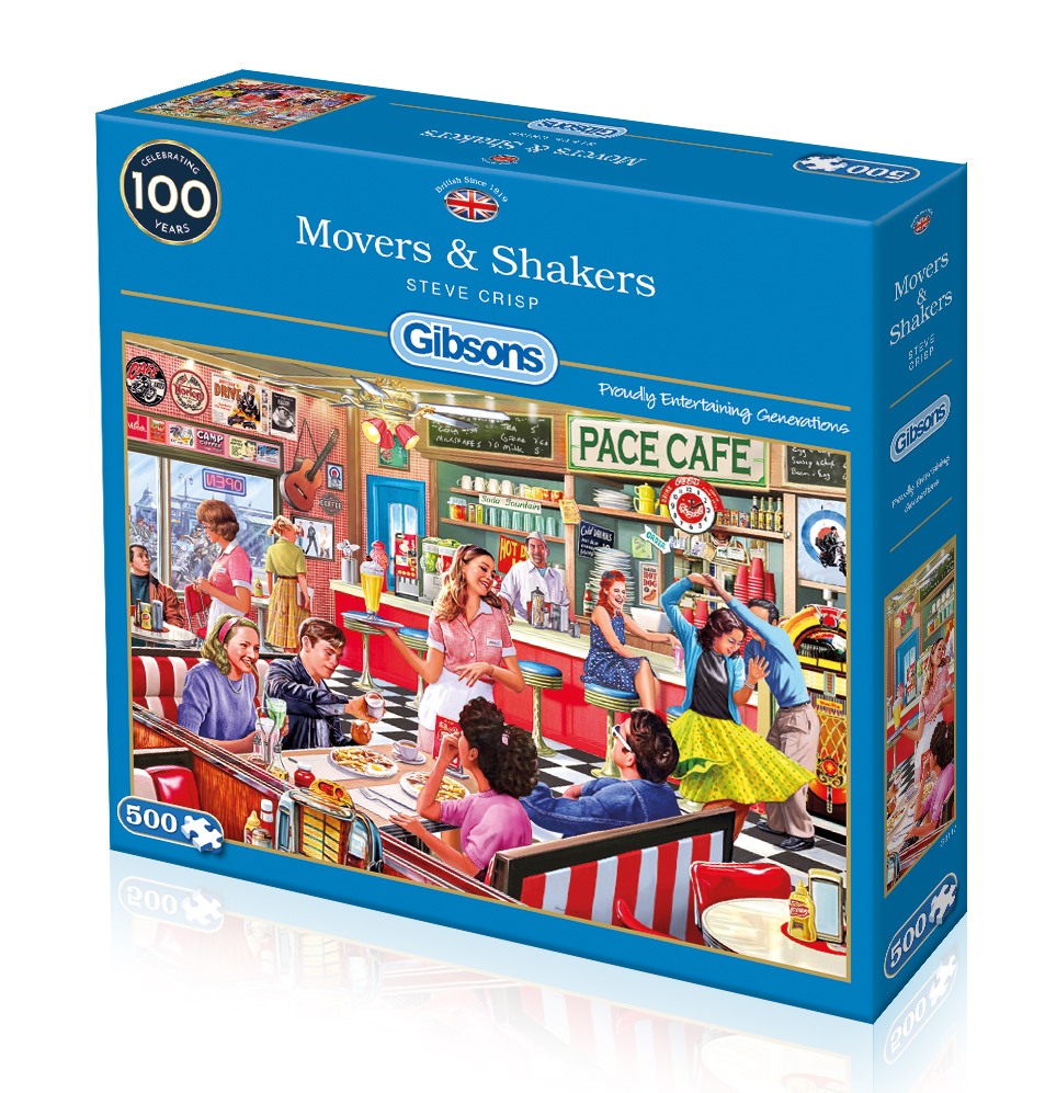 Movers & Shakers 500pc Jigsaw Puzzle